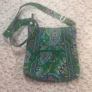 [Vera Bradley] Vintage green paisley bag purse 👜